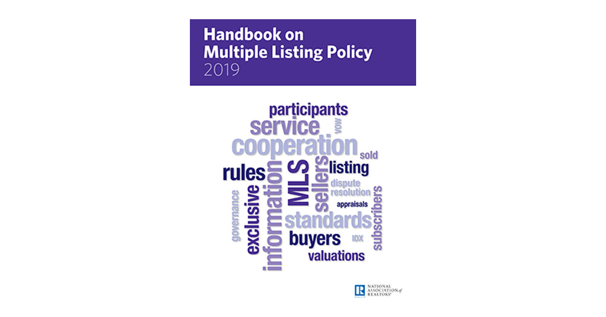 Handbook on Multiple Listing Policy | www nar realtor