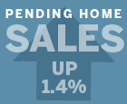 Pending Home Sales Up 1.4%