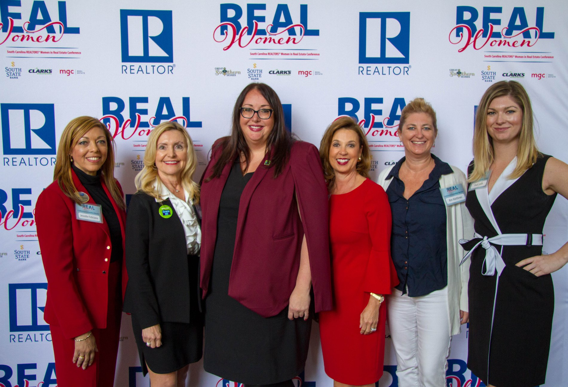 Attendees of the South Carolina REALTORS® REAL Women: SC Women in Real Estate conference