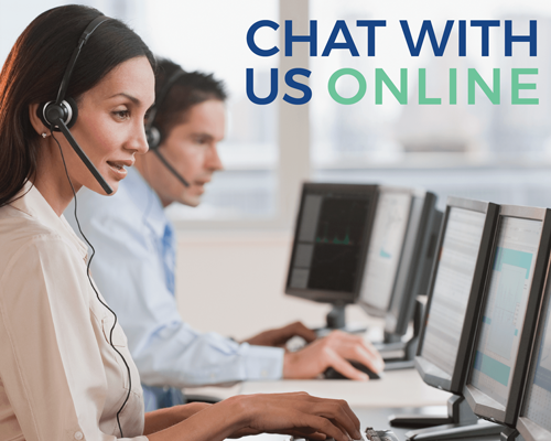 Chat with us online
