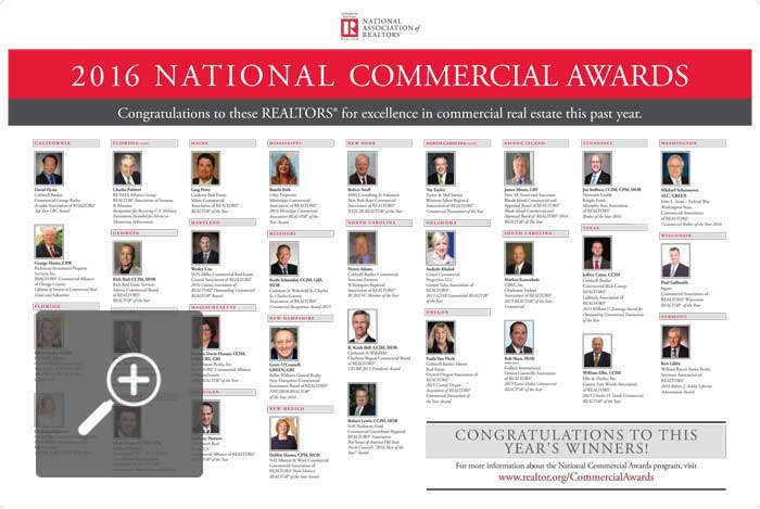 2016 National Commercial Awards Winners