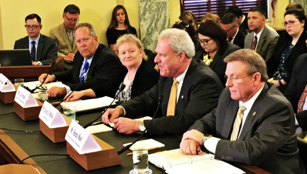 David McKey testifies before the U.S. Senate Small Business and Entrepreneurship committee about flood insurance.
