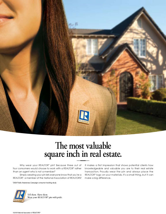 Consumer Advertising Campaign: REALTOR® Pride Print Ads | nar.realtor