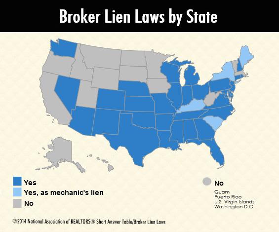 Broker Lien Laws