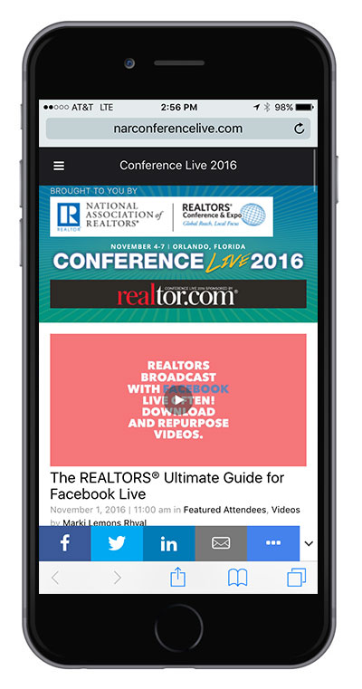 Conference Live Mobile