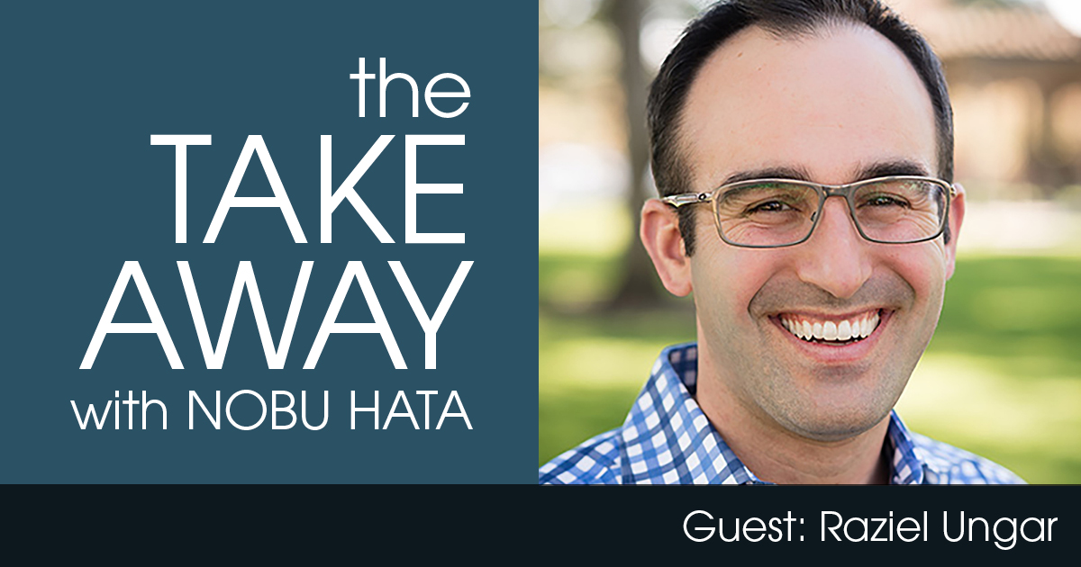 The Takeaway with Nobu Hata, Featuring Raziel Ungar, pictured