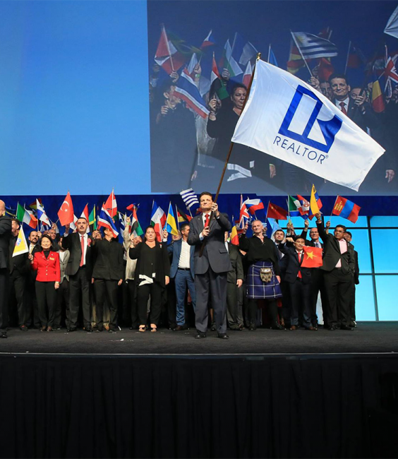 2016 International REALTORS® flag ceremony