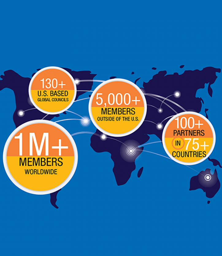 World map: 2019 International REALTOR® Membership
