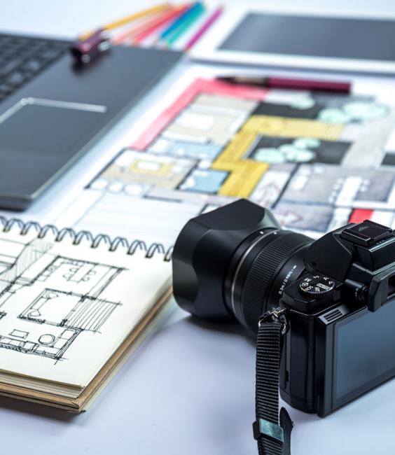 Camera & Notebook