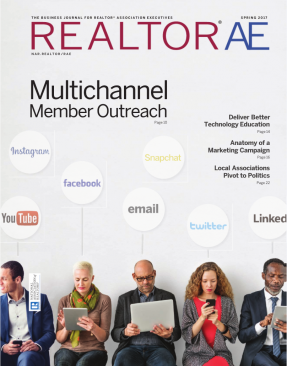 Cover of the Spring 2017 issue of REALTOR® AE Magazine