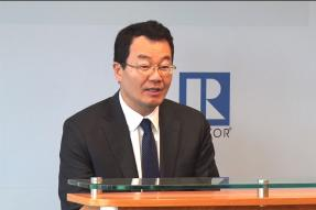 Video still: Chief Economist Lawrence Yun talking about March 2018 existing-home sales