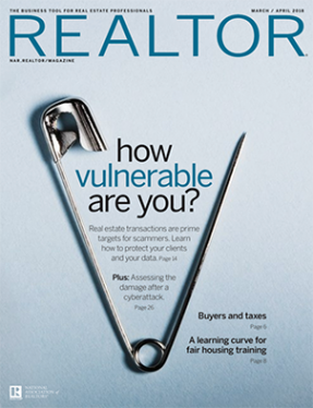Realtor Mag March April 2018 Cover