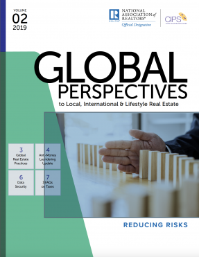 Cover of the February 2019 Global Perspectives: Reducing Risks