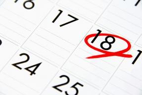 Calendar View 2019 Event Planner for Legislative Meetings