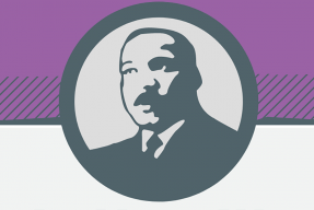 Martin Luther King, Jr. graphic