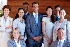 Group of business professionals