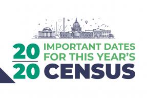 2020 Census Important Dates Teaser