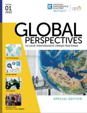 Cover of the 2020 Volume 01 issue of Global Perspectives: Special Edition