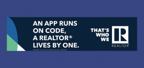 An App Runs on Code. A REALTOR® Lives by One Ad