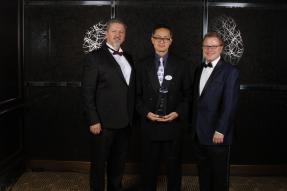 Nick Zigic, Kelvin Wong and Andrew Cooper, CEO