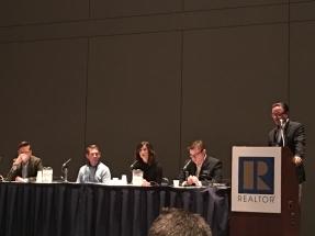 Blockchain panel moderated by Duke Long