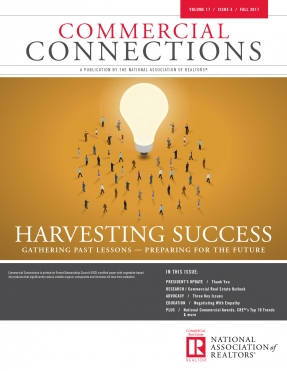 Commercial Connections Cover Fall 2017 Harvesting Success Gathering Past Lessons Preparing for the Future