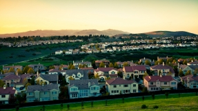 California Suburb Houses in San Ramon