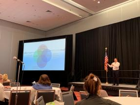 Jess Biller Talking at the 2019 REALTORS® Conference & Expo