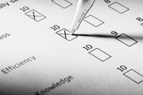 Pen on Questionnaire