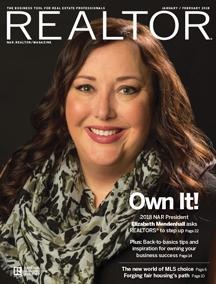 REALTOR® Magazine Cover Jan/Feb 2018