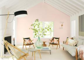 Benjamin Moore Pink/soft rose color