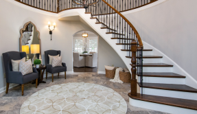 Large Foyer with staircase entrance
