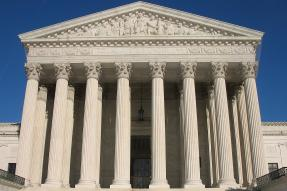 The U.S. Supreme Court Building facade