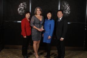 Helen Marston, Suzi Dunkel-Soto, Yin Bihr, and Albert Tran, CEO