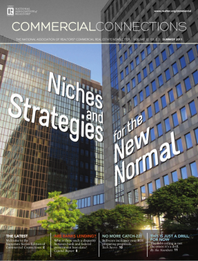 Cover of the 2011 Summer issue of Commercial Connections: Niches and Strategies for the New Normal