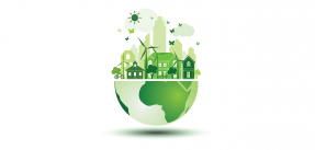 Green Earth Day icon