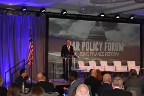 NAR President John Smaby at the NAR Policy Forum on Housing Finance Reform on February 7, 2019