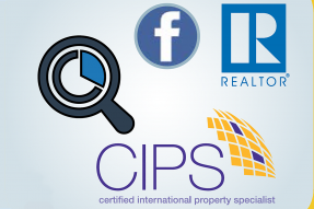 NAR, CIPS, and Facebook logos