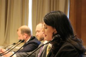 REALTOR® Nina Dosanjh giving congressional testimony on data privacy