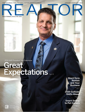 REALTOR® Magazine, January/February 2016: Great Expectations