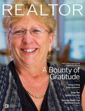 REALTOR® Magazine Cover, November/December 2015