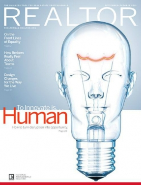 REALTOR® Magazine Cover, September/Oct 2015: To Innovate Is Human