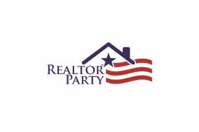 REALTOR® Party Logo Centered White