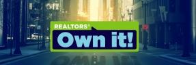 Realtors' own it banner