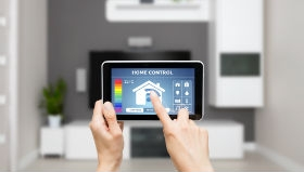 Smart home controls thumb