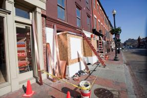 Storefront Construction - Neighborhood Revitalization