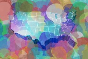 US Census Concept - Color