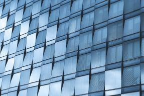 Commercial building windows