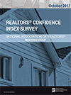 Cover of the October 2017 REALTORS® Confidence Index