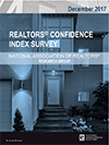 Cover of the December 2017 REALTORS® Confidence Index report